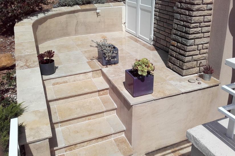 arc en pierre dallage en pierre naturelle pour l 39 exterieur. Black Bedroom Furniture Sets. Home Design Ideas