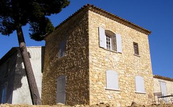 parement et façade en pierre
