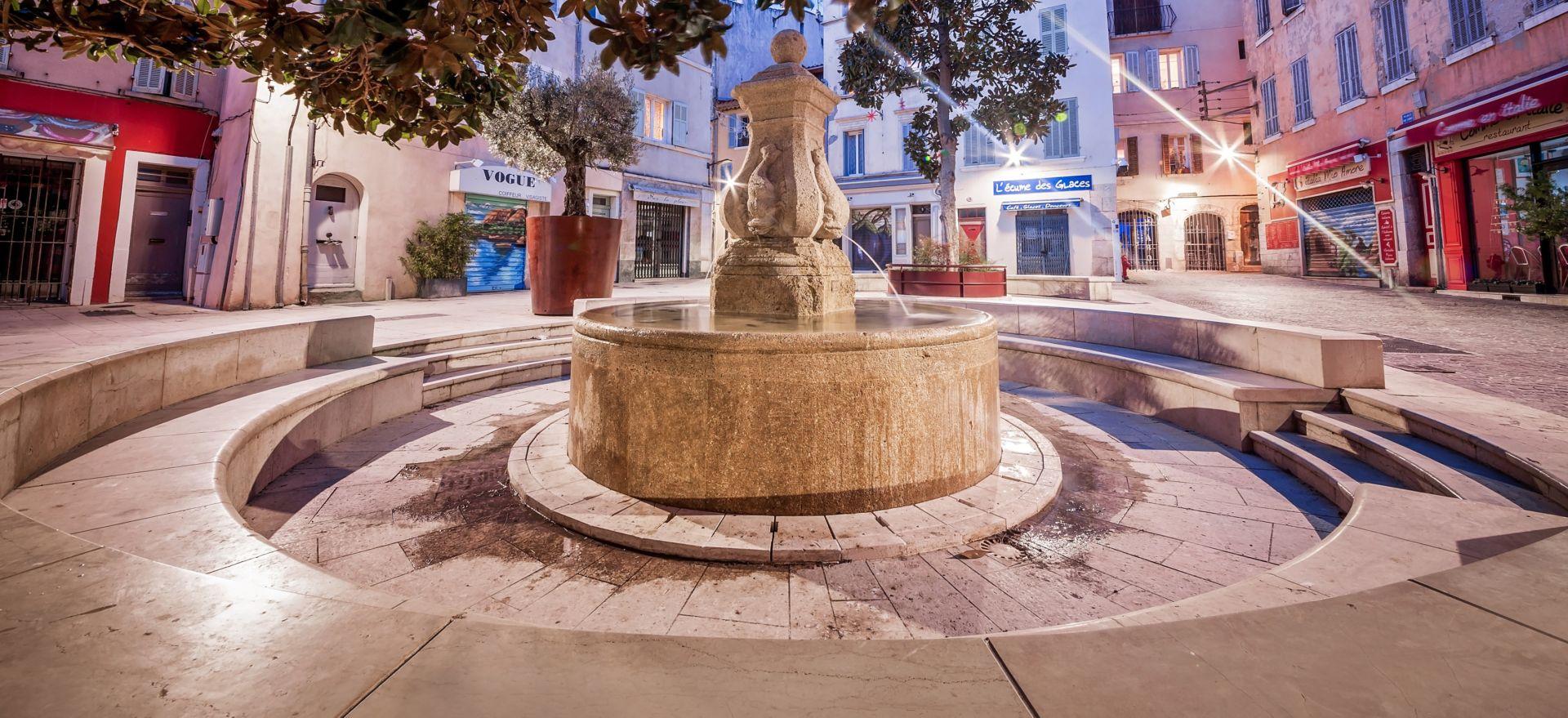 Rénovation d'une Fontaine La Ciotat